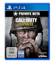 CALL OF DUTY WWII STANDARD EDITION PS4